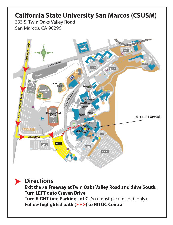 Csu San Marcos Campus Map.Stoa 2014 National Invitational Tournament Of Champions